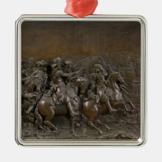 Conquest of Franche-Comte in 1674, c.1686 Metal Ornament