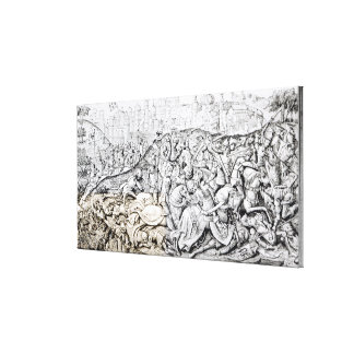 Conquest of Jerusalem by Charlemagne Canvas Print