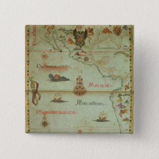 Conquest of Mexico and Peru Pinback Button