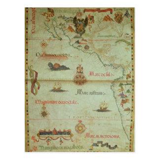 Conquest of Mexico and Peru Postcard