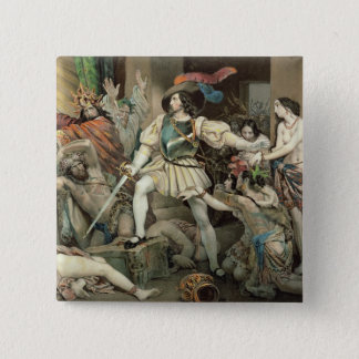 Conquest of Mexico Pinback Button