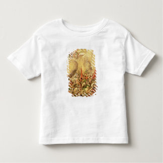 Conquest of Mexico: the Spaniards retreating Toddler T-shirt