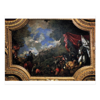 Conquest of Smyrna by Paolo Veronese Postcard