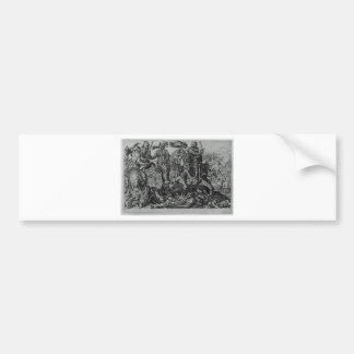 Conquest of Tunis (Victory of Charles V) by Maerte Bumper Sticker