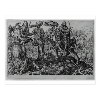 Conquest of Tunis (Victory of Charles V) by Maerte Postcard