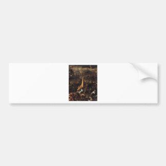 Conquest of Zara by Tintoretto Bumper Sticker