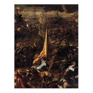 Conquest of Zara by Tintoretto Postcard
