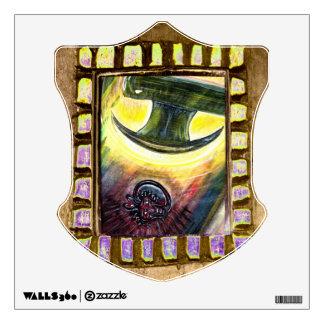 Conquest Over Evil Wall Sticker