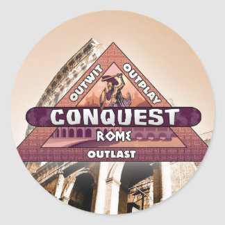 Conquest: Rome Logo Sticker