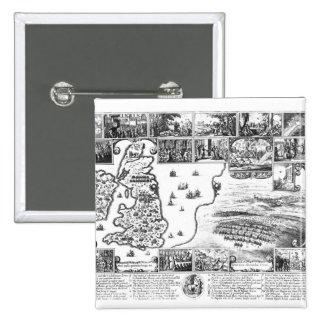 Conquests of Gustavus II Adolphus Pinback Button