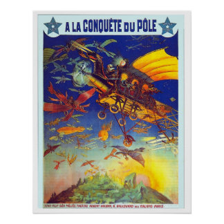 Conquete du Pole - Poster