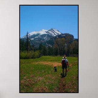 Conquista de la montaña póster