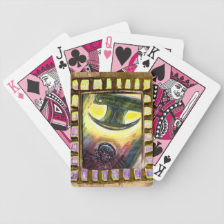 Conquista sobre mal cartas de juego