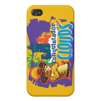 Conquistador of the Clouds iPhone 4 Cover