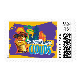 Conquistador of the Clouds Postage Stamp