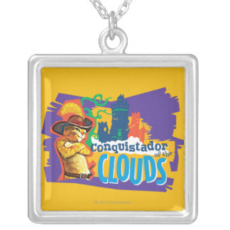 Conquistador of the Clouds Silver Plated Necklace