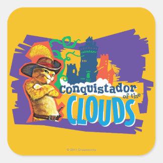 Conquistador of the Clouds Square Sticker