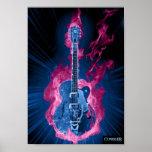 Conquiste el poster de la guitarra