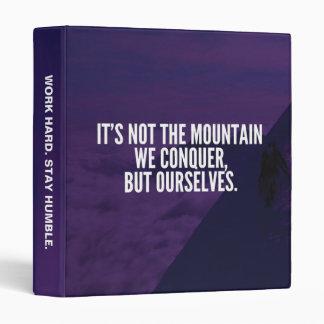 """Conquiste la montaña - de motivación carpeta 1"""""""
