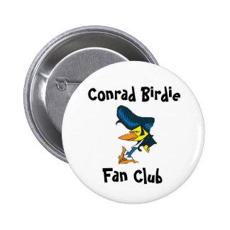 Conrad Birdie Fan Club Pinback Button