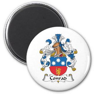 Conrad Family Crest Magnet
