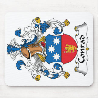 Conrad Family Crest Mouse Pads