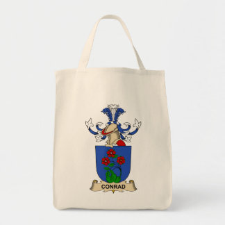 Conrad Family Crests Canvas Bags