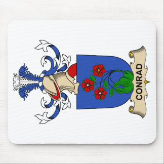 Conrad Family Crests Mouse Pad