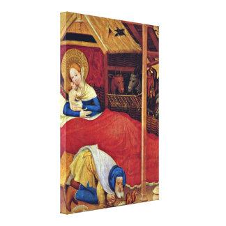 Conrad von Soest - Christ Canvas Print