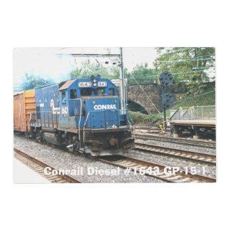 Conrail #1643 diesel GP-15-1 Tapete Individual