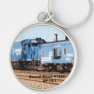 Conrail Diesel #1633 GP-15-1 Keychain