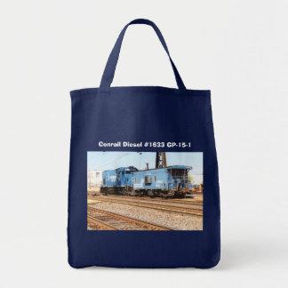Conrail Diesel #1633 GP-15-1 Tote Bag