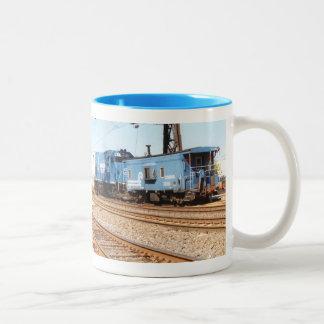 Conrail Diesel #1633 GP-15-1 Two-Tone Coffee Mug