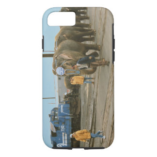 Conrail Elephants on The March iPhone 7 Case