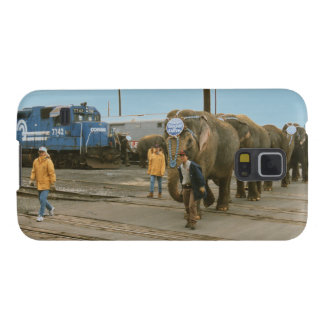 Conrail Elephants on The March Phone Case