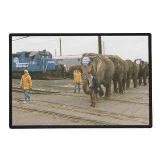 Conrail Elephants on The March Placemats
