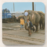 "Conrail Elephants on The March Plastic Coasters<br><div class=""desc"">From www.railphotoexpress.biz