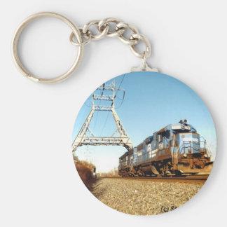 Conrail Engine 7741 @ Pencoyd Pennsylvania Keychan Keychains