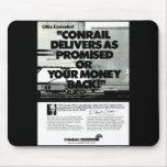 Conrail entrega según lo prometido 1984 tapete de raton