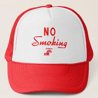 Conrail No Smoking Sign Trucker Hat