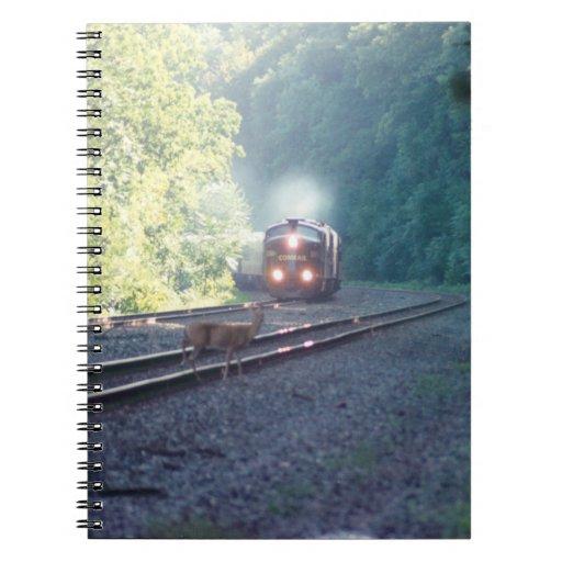 Conrail Office Car Train-OCS 8/22/97 Notebook