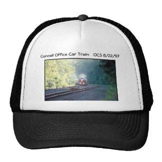 Conrail Office Car Train - OCS 8/22/97 Trucker Hat