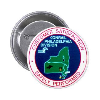 Conrail Philadelphia Division Button