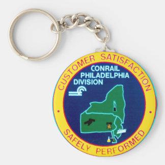 Conrail Philadelphia Division Keychain
