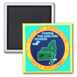 Conrail Philadelphia Division Refrigerator Magnet