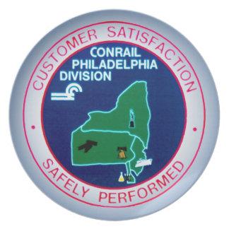 Conrail Philadelphia Division  Plate