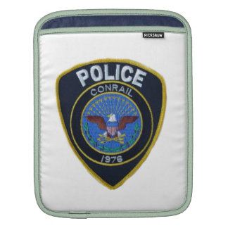 Conrail Railroad Police Patch iPad Sleeve