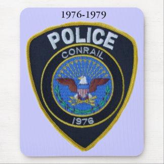 Conrail Railroad Police Patch Mousepad