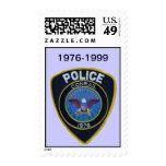 Conrail Railroad Police Patch Postage