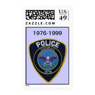 Conrail Railroad Police Patch Postage